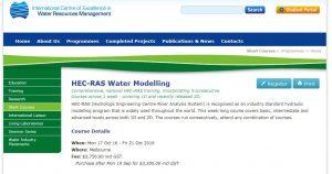 ICE WaRM HEC-RAS Course